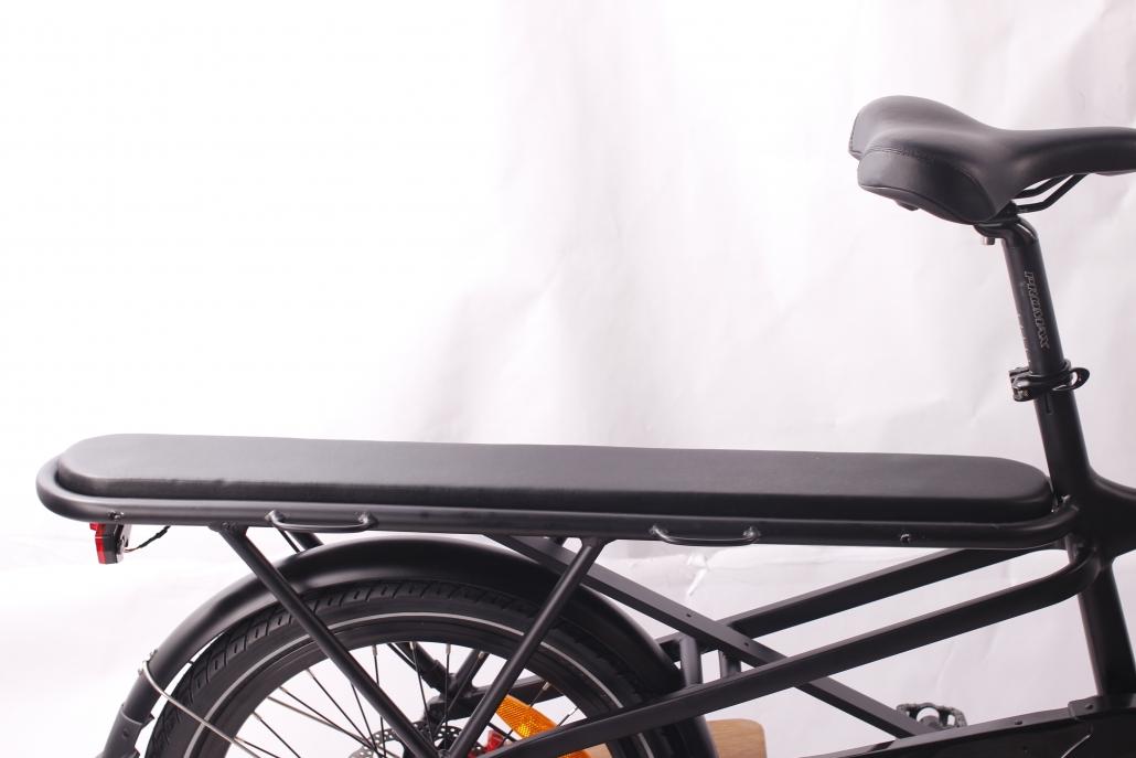 Cargo Bike Cushioned Rear Seat Greenbike Electric Motion
